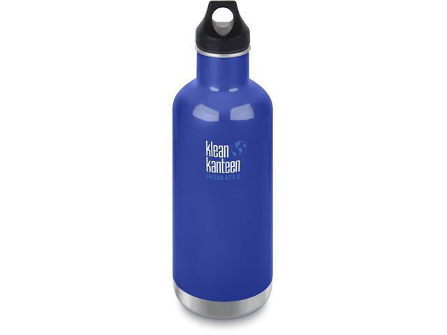 Klean Kanteen Classic Vacuum Insulated Flaske Loop Cap 946ml, coastal waters